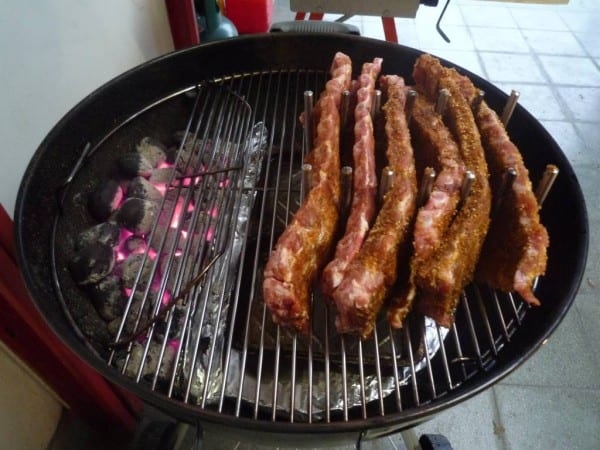 Ribben indirect grillen