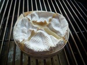 Warme camembert