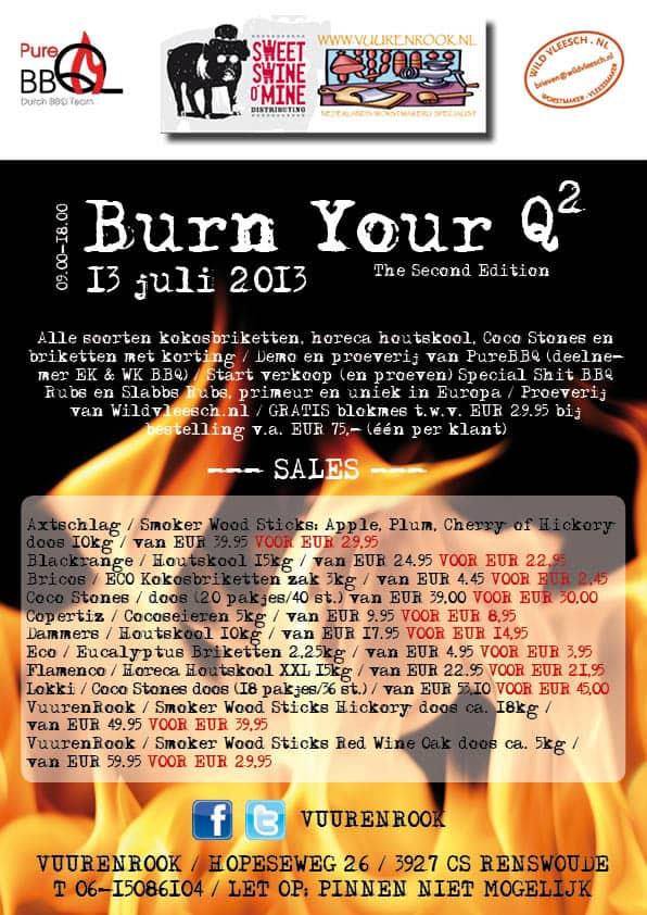 Burn Your Q²