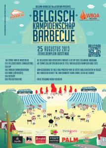 BK BBQ Oostende 2013 - Flyer