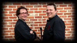 Koen Maes & Tom De Jaeger - foto © Kwizien TV