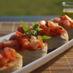 Traditionele bruschetta's