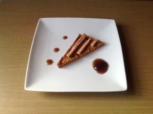 Peperkoek met foie gras