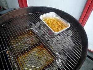 Scampi op de BBQ - direct grillen