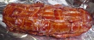 Fatty in een bacon weave