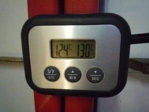 Temperatuur ribben