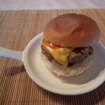 """De """"Rook zonder Vuur"""" hamburger"""