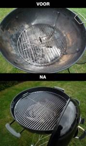 BBQ Schoonmaken